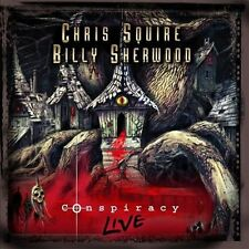 Conspiracy: Live  by Chris Squire / Billy Sherwood CD 2013 2 Discs Bonus DVD YES