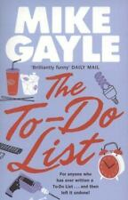 The To-Do List, Gayle, Mike, New Books