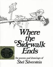 Where the Sidewalk Ends (25th Anniversary Edition Book & CD) Shel Silverstein Bo