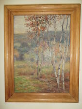 Carroll Butler Brown Oil on Board Painting