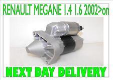 RENAULT MEGANE 1.4 1.6 BRAND NEW STARTER MOTOR 2002 2003 2004 2005 2006 2007  on