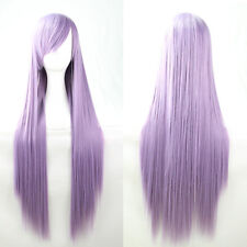 Fashion Lady Girl Long Straight Elegant Cosplay Party Costume Anime Hair Wig