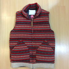 WHITE MOUNTAINEERING GORE-TEX WINDSTOPPER NORDIC KNIT WOOL DOWN VEST M visvim