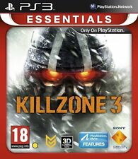 KILLZONE 3 KILL ZONE PS3 MOVE Game (PRE OWNED) (USED) Excellent Condition