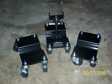Heavy - Duty Snow Plow Dolly System. Aids installation / removal of snow plows.