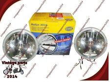 Brand New 2 Hella 3003 Clear Halogen Driving Spotlight With Side Lamp Rally 4X4