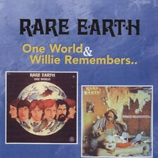 "Rare Earth:  ""One World & Willie Remembers...""  (2on1 CD Reissue)"