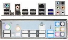 ATX Blende I/O shield MSI 890FXA-GD65 #169 io NEU P67S-C43 P67A-S40 backplate
