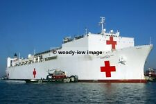 rp02838 - American Navy Hospital Ship - USNHS Comfort - photograph