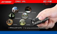 JETbeam NITEYE EC-R16 Cree XP-L 750LM Rechargeable Waterproof LED Flashlight