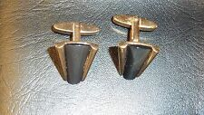 BOUTONS DE MANCHETTE  NACRE VERITABLE VINTAGE 1950 NEUF/OLD NEW CUFF LINKS