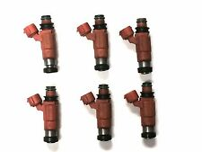 SET OF 6 NIKKI FUEL INJECTOR 1998-2005 DODGE MITSUBISHI 3.0L 3.5L V6 CDH210