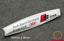AUDI Sport Germania TEAM GOH Emblema Badge A3 (# 4Si) A4 S3 S4 TT Quattro A1 R8 RS
