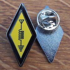 Simbolo internazionale radio amatoriale logo smalto pin badge bavero collare Adesivo NT