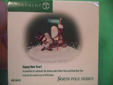 Department 56 North Pole Village Accessory  Happy New Year  #56.56443