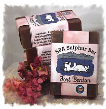Paris Twilight_Fort Benton_ SPA Sulphur Mineral Soap Made in Montana _Handmade