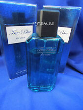 4 Pack NEW TRUE BLUE Cologne Perfume Men 3.4 oz IMPRESSIONS Davidoff cool waters