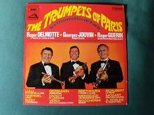THE TRUMPETS OF PARIS - R DELMOTTE, G JOUVIN, R GUERIN LP 33T VDSM 2C 072 11797