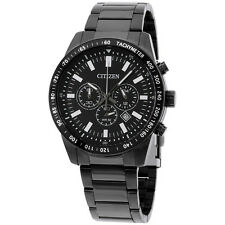 Citizen Black Dial Stainless Steel Men's Watch AN807550E