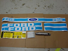 2810 FORD TRACTOR BLUE DECAL KIT...... BEST DECALS ON THE MARKET!!!!!!!!!