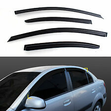 Sun Shade/Rain Guard Door/Window Vent Visor for 06-10 Rio 4DR