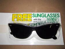 NEW Vintage KOOL cigarettes Promo Sunglasses - 1987 - Retro!