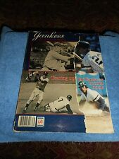 1997 YANKEES YEARBOOK VINTAGE OFFICIAL NEW YORK YANKEES SOUVENIR PROGRAM GUIDE