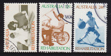 1972 Rehabilation Series - Complete Set of Used Stamps