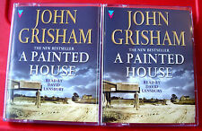 John Grisham A Painted House 3-Tape Audio Book David Lansbury Thriller