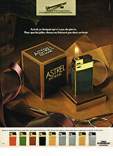 PUBLICITE ADVERTISING 054   1973  ASTREL ELECTRONIC   briquet CONSUL