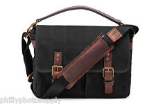 ONA Prince Street Black Canvas Camera / Messenger Bag - Handcrafted Premium Bags