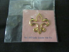 Lady Scouter Hat Pin    es