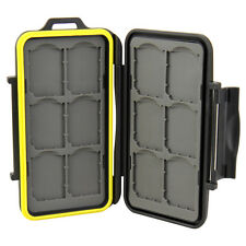 JJC MC-SD12 - Speicherkarten Schutzbox für 12 x SD / SDHC / SDXC - Wasserdicht
