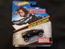 2016 HOT WHEELS MARVEL CIVIL WAR WINTER SOLDIER HW HOTWHEELS BLACK VHTF RARE