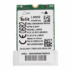 4G TELIT LN930 LTE FDD DW5810e Wireless LTE Mobile WWAN Network Card For Laptop