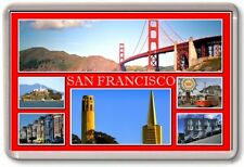 FRIDGE MAGNET - SAN FRANCISCO - Large - USA TOURIST 6