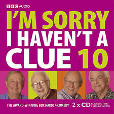 I'M SORRY I HAVEN'T A CLUE 10 - NEW - UNSEALED - BBC RADIO 4 SERIES AUDIO CD