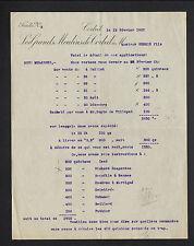 """CORBEIL (91) FARINES """"LES GRANDS MOULINS DE CORBEIL"""" en 1907"""