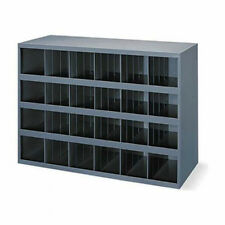 Metal 24 Compartment / slot / hole Storage Bin, Cabinet For Nuts, Bolts 356