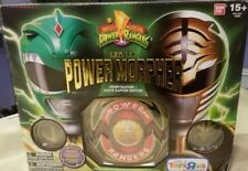 Mighty Morphin Power Rangers Green Ranger White Ranger Legacy Morpher Toys R Us