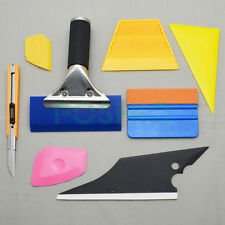 8IN1 Auto Application Tools Kits Vinyl Scraper Squeegee Knife Car Film Wrapping