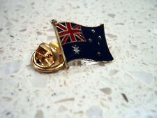 New Australian Flag Gold Plated Enamel Pin Australia Day Badge Lapel Souvenir