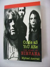 NIRVANA - COME AS YOU ARE THE STORY OF NIRVANA - U.S.A. BOOK BRAND NEW 1993