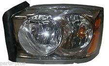 New Replacement Chrome Headlight Assembly LH / FOR 2005-07 DODGE DAKOTA