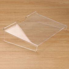 New Acrylic Slat Wall Slatwall Retail Mobile Phone Shop Display Flat Shelf Stand