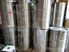 55 gallon stainless steel drum used sku a4