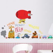 2016 Hot Zootopia Wall Sticker Decal Removable Vinyl Decor Art Kids Room Home