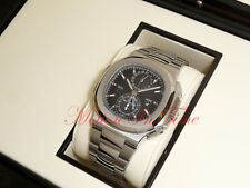 Patek Philippe 5990/1A Stainless Steel Nautilus Chronograph Dual Time Zone Auto