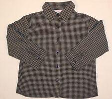 Hemd Jungenhemd klassisches Hemd langarm kariert business Größe 104 - 110