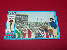 N°136 LONDON 1948 PANINI OLYMPIA 1896 - 1972 JEUX OLYMPIQUES OLYMPIC GAMES